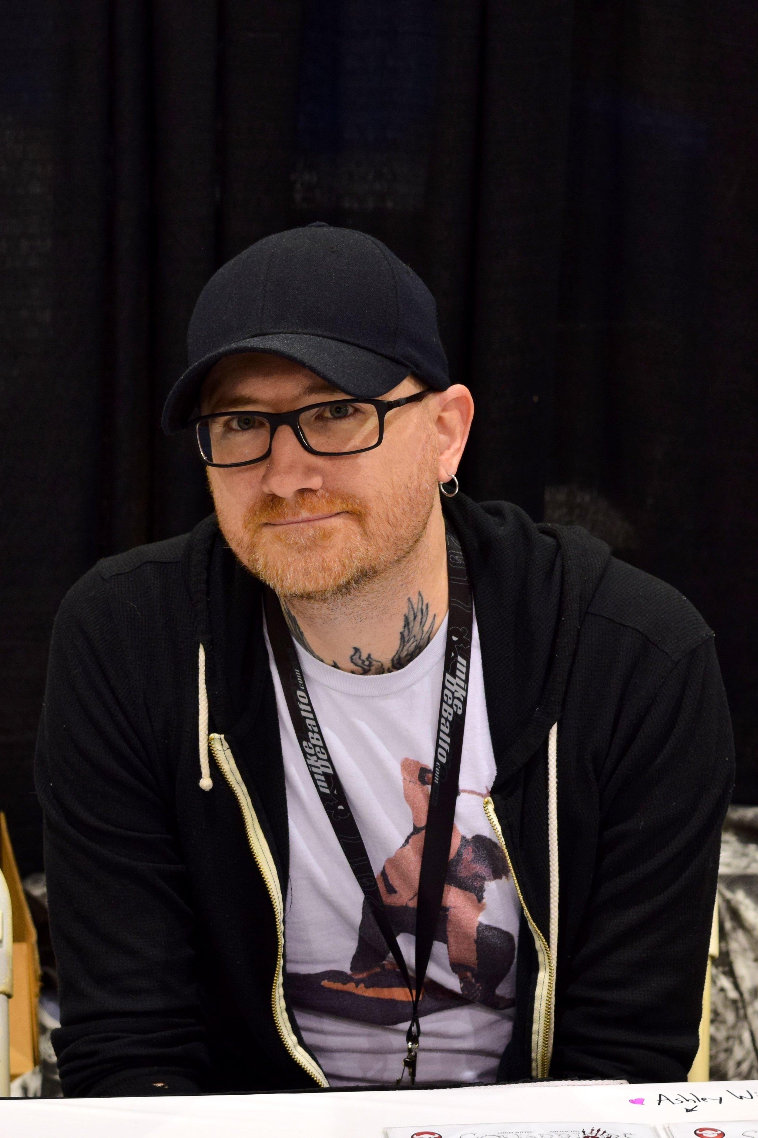 Ash Maczko at Phoenix Comic Con 2017.