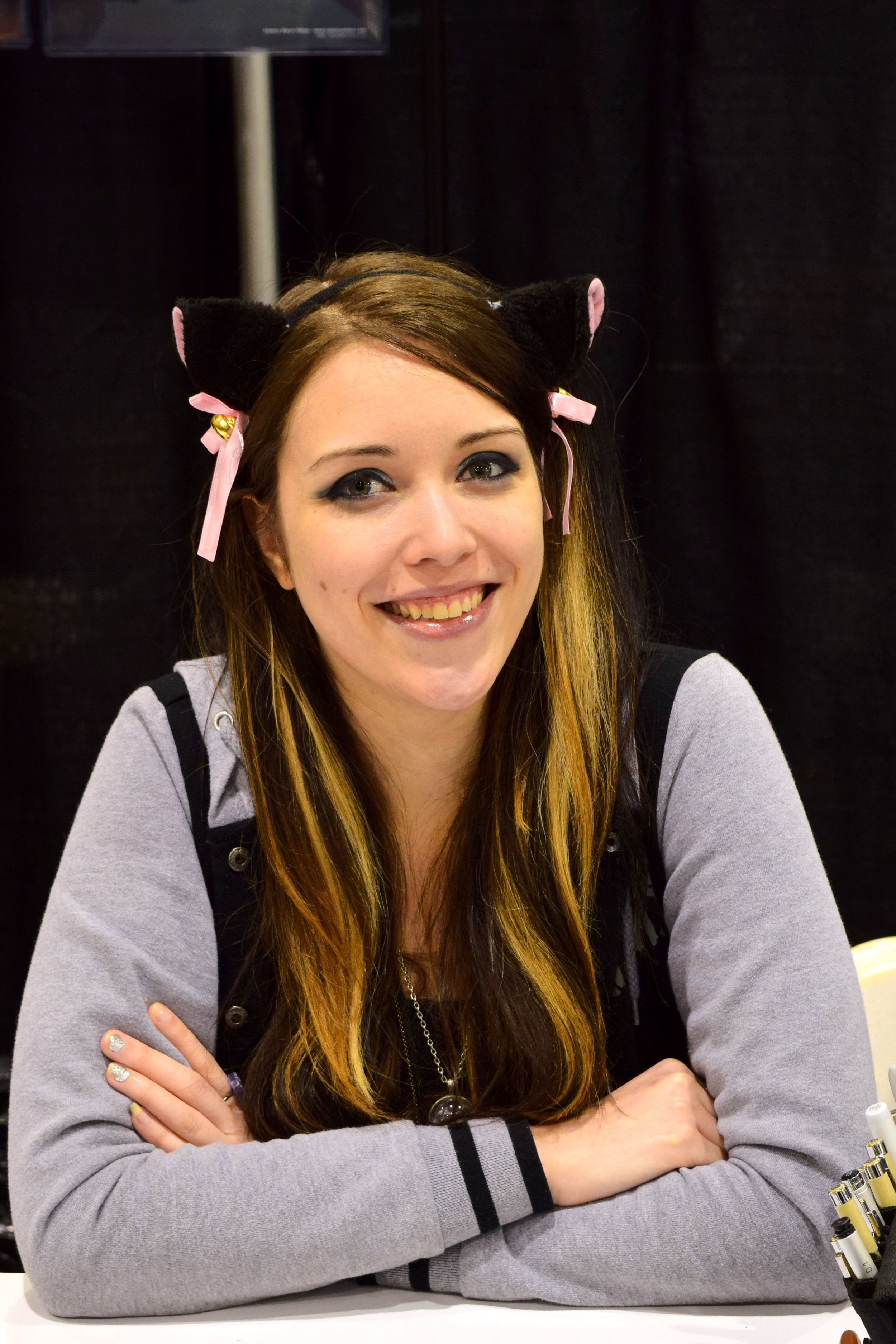 Ashley Witter at Phoenix Comic Con 2017.