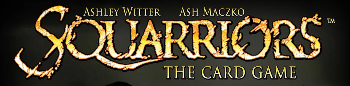 Squarriors: The Card Game banner.