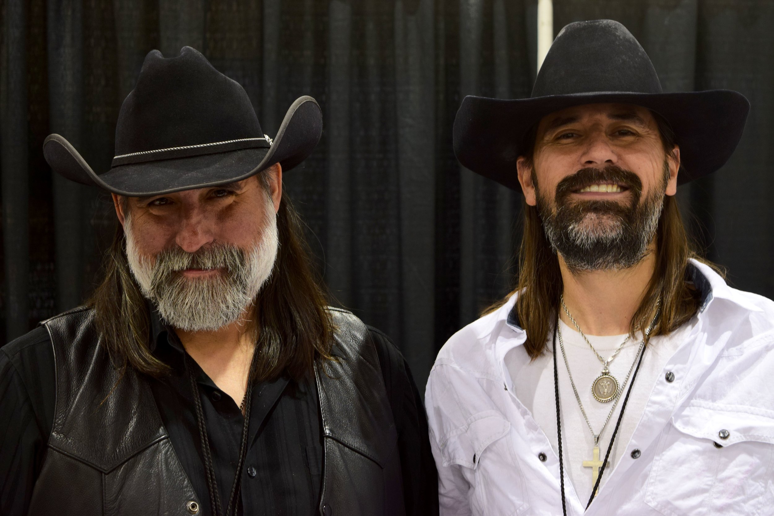 The Fillbach Brothers (Matthew & Shawn) at Phoenix Comic Con 2017. (They share a brain)