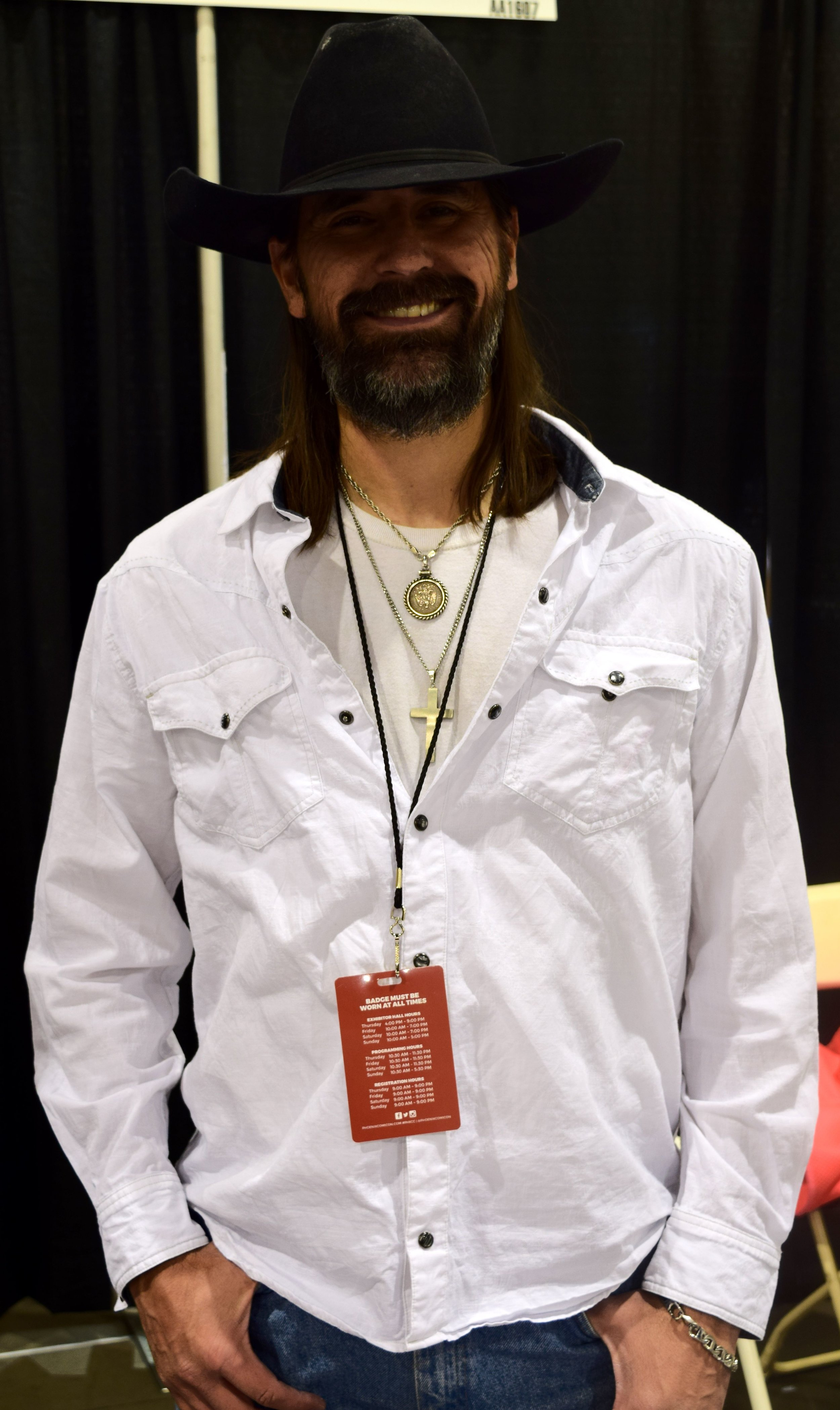 Shawn Fillbach at Phoenix Comic Con 2017.