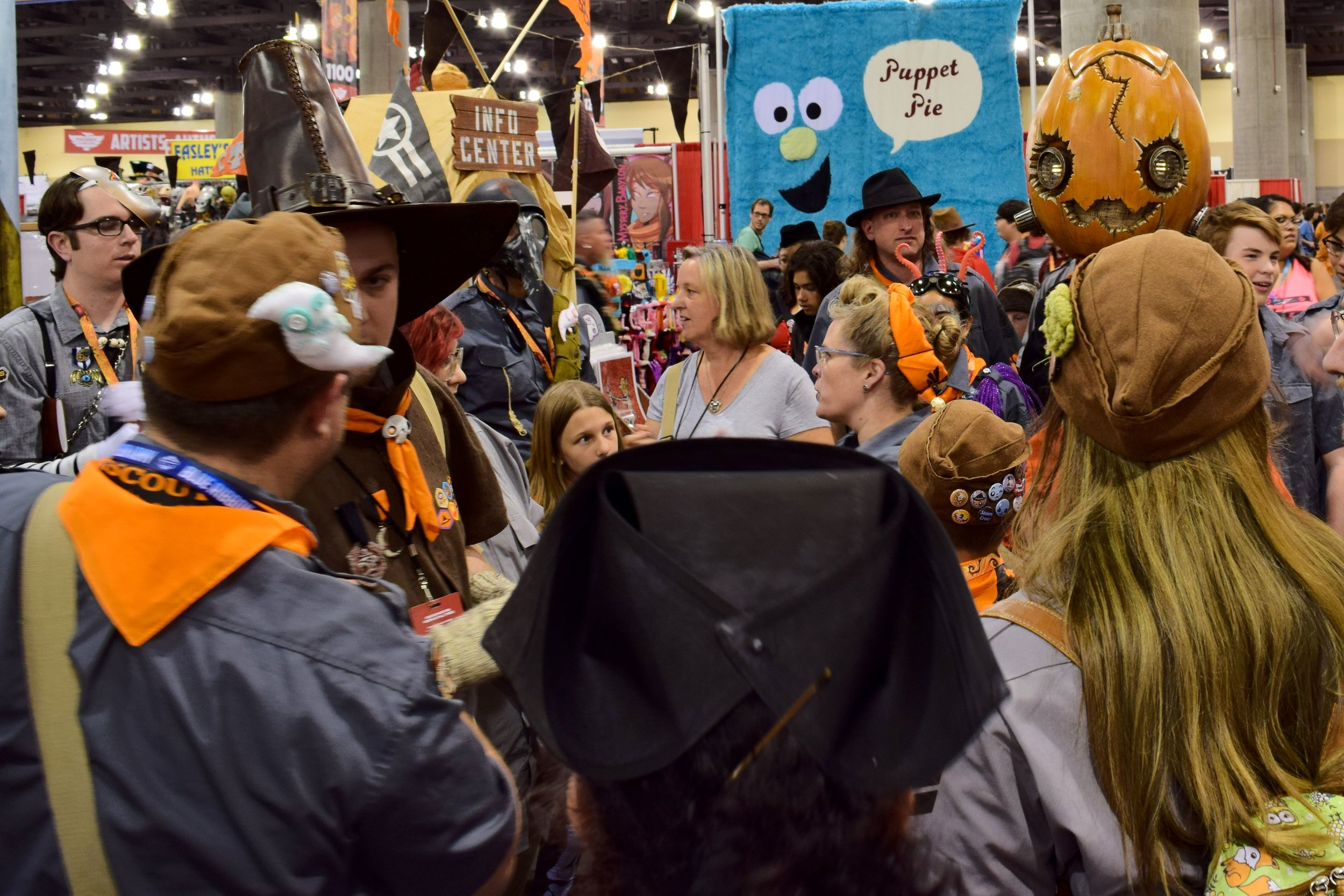 Monster Scouts meeting at Phoenix Comic Con 2017. (2)