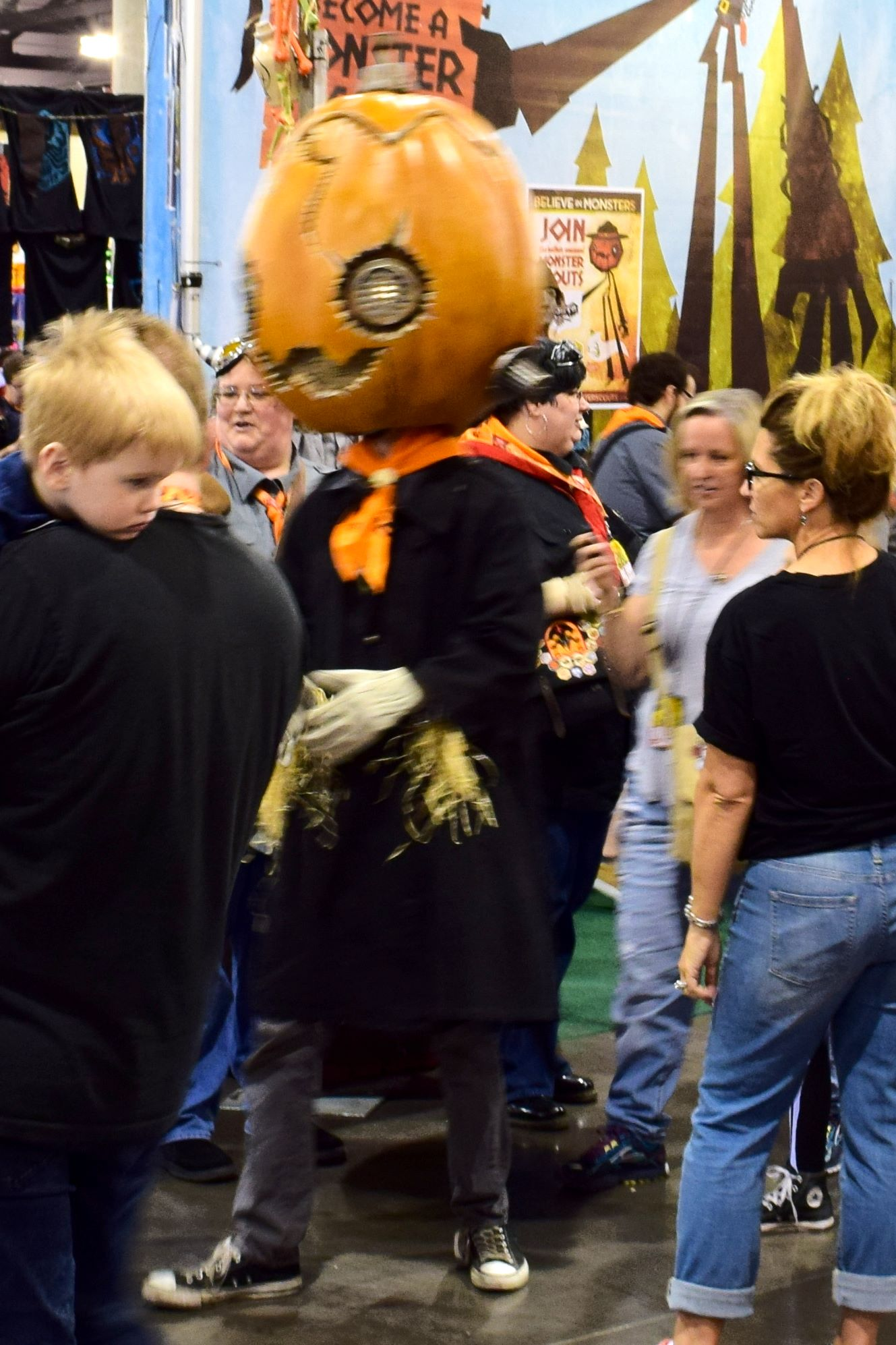 Marrow Thatch appears at Phoenix Comic Con 2017.