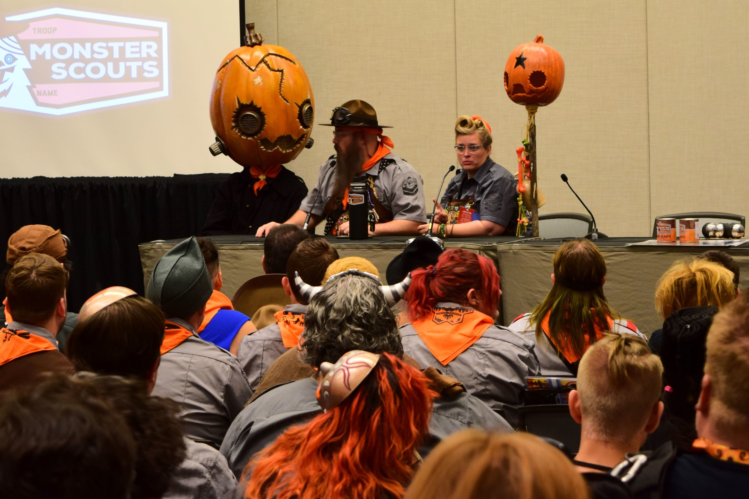 The Monster Scouts Rally at Phoenix Comic Con 2017. (2)