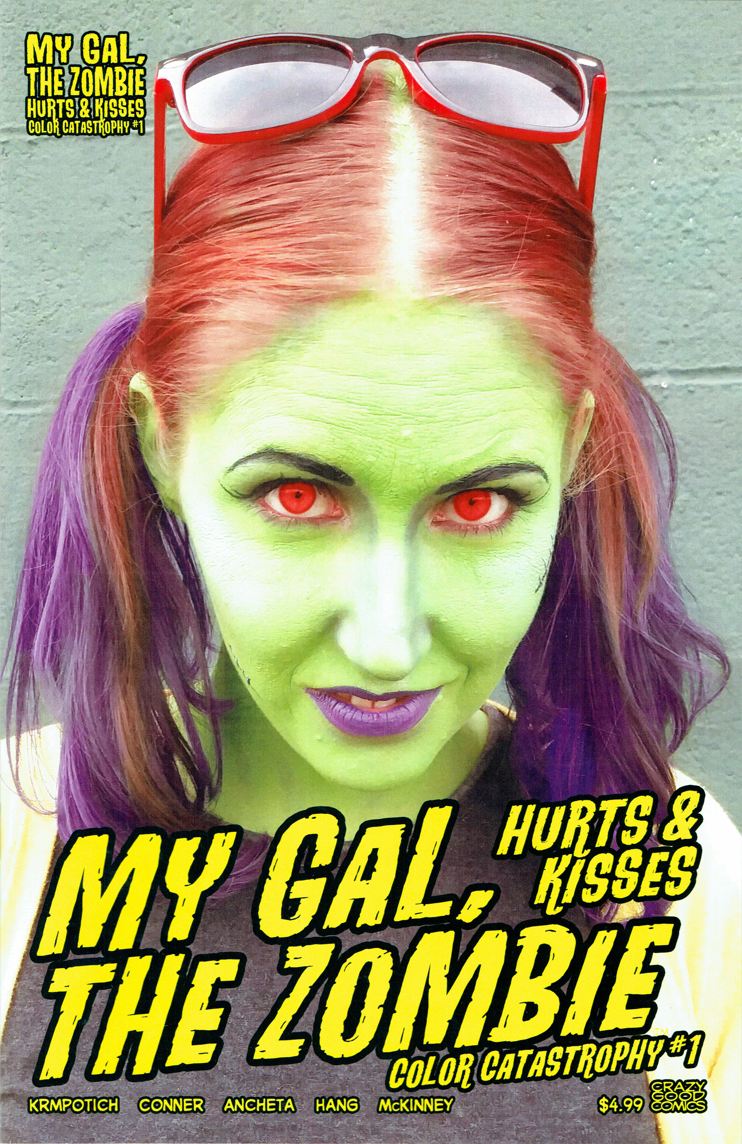 My Gal the Zombie: Color Catastrophy #1 from Crazy Good Comics.