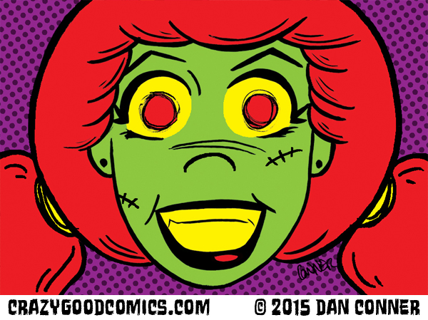 My Gal the Zombie by Dan Conner.