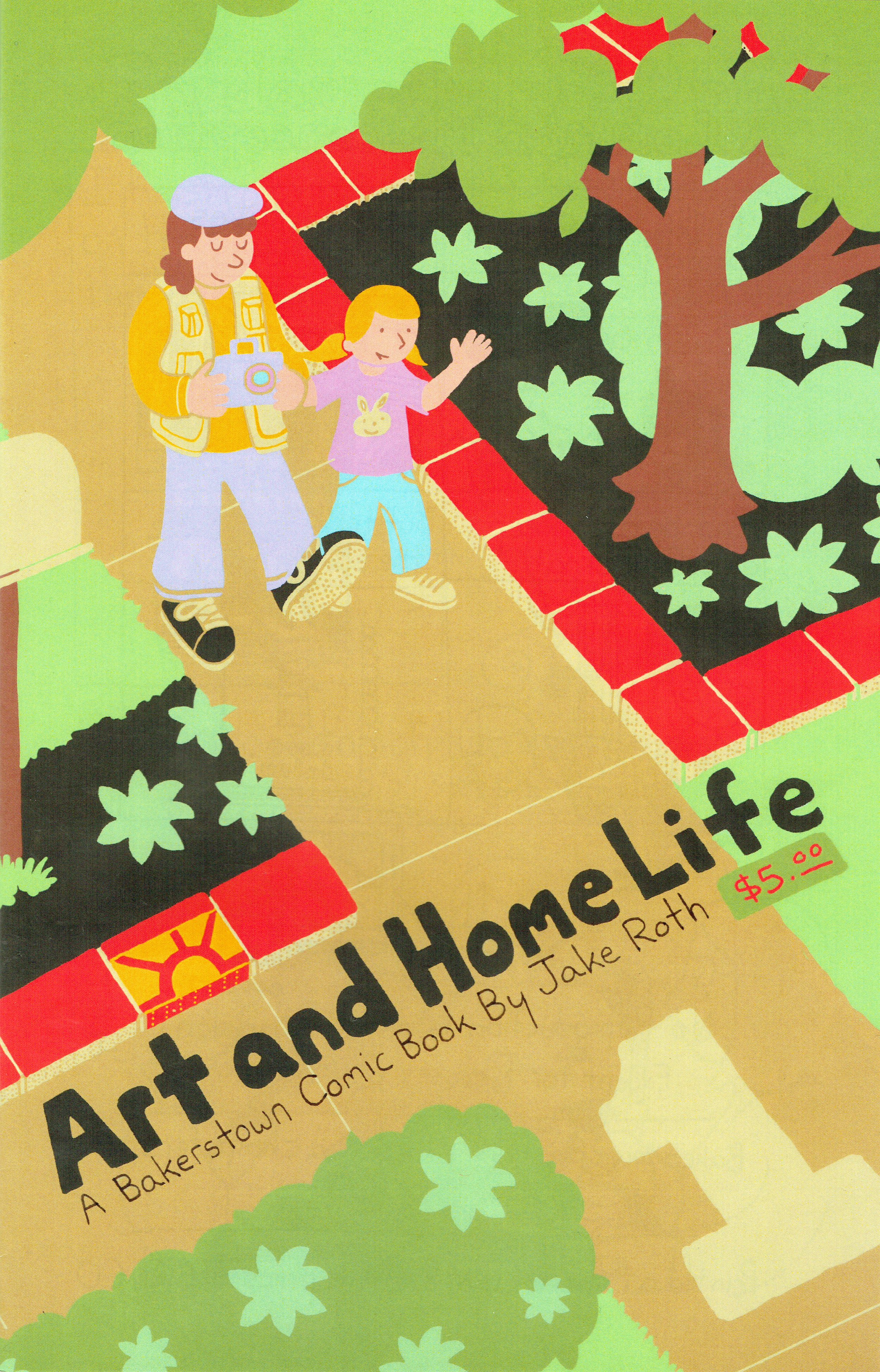 Art and Home Life #1 by Jake Roth.