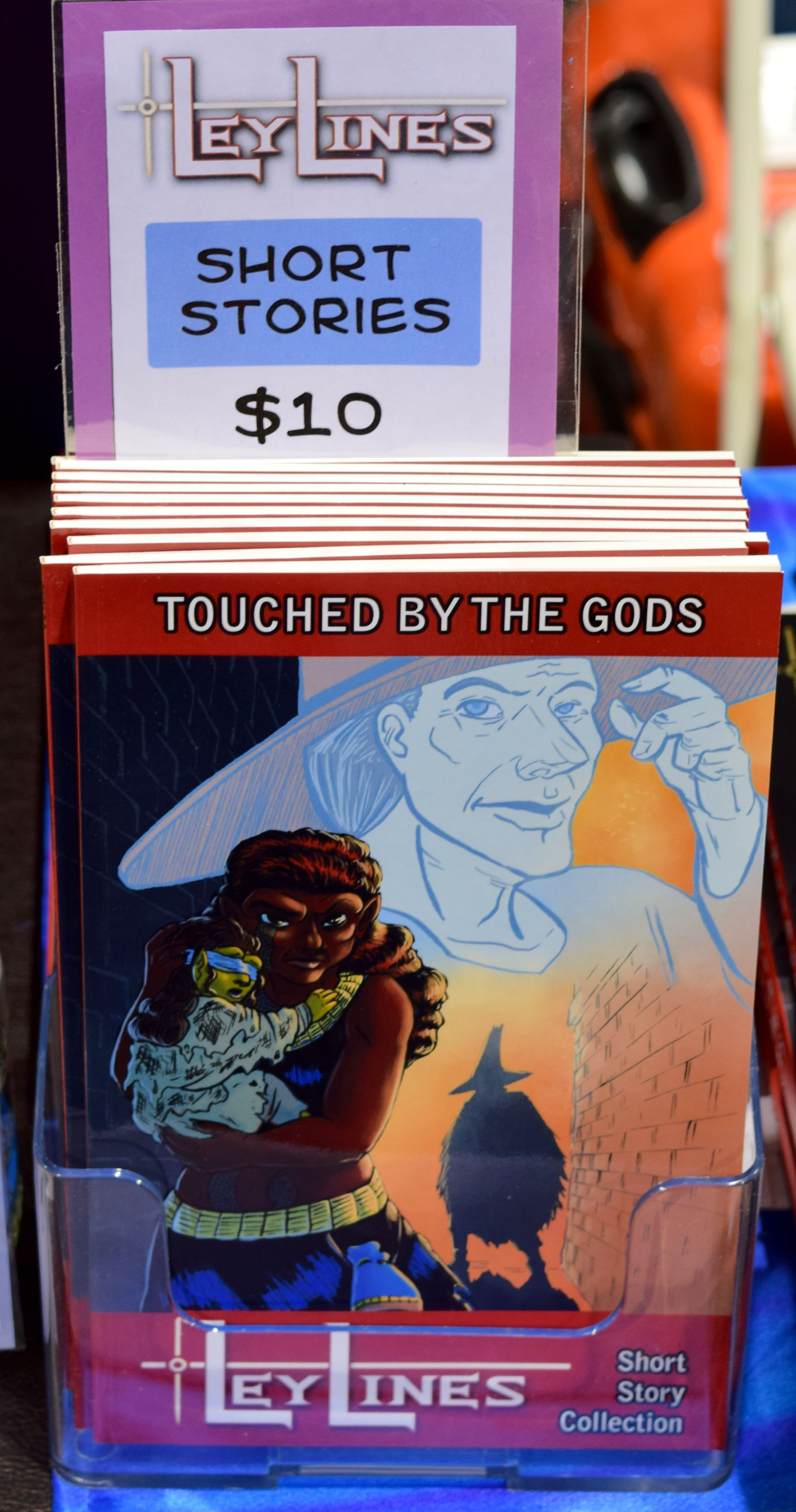 LeyLines: Touched By The Gods, a short story collection.
