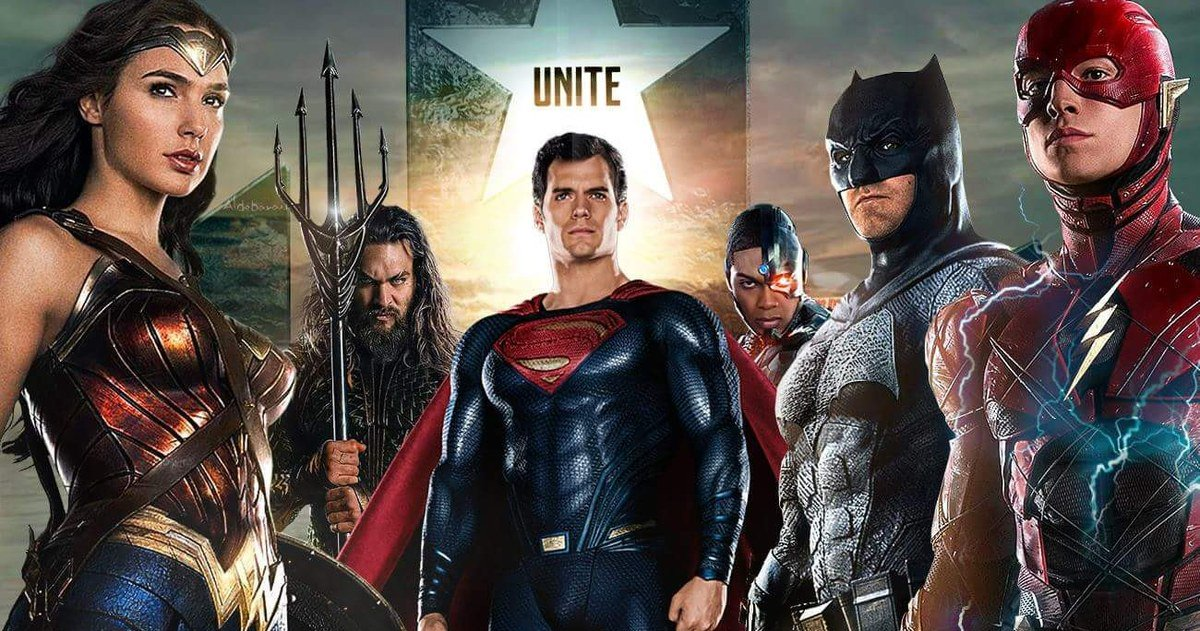 Wonder Woman, Aquaman, Superman, Cyborg, Batman, and The Flash all join forces in Justice League.