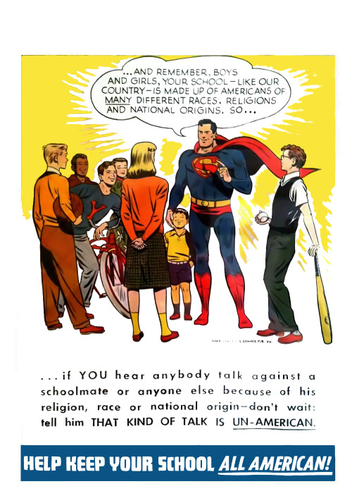 Superman knows what it is to be All American.