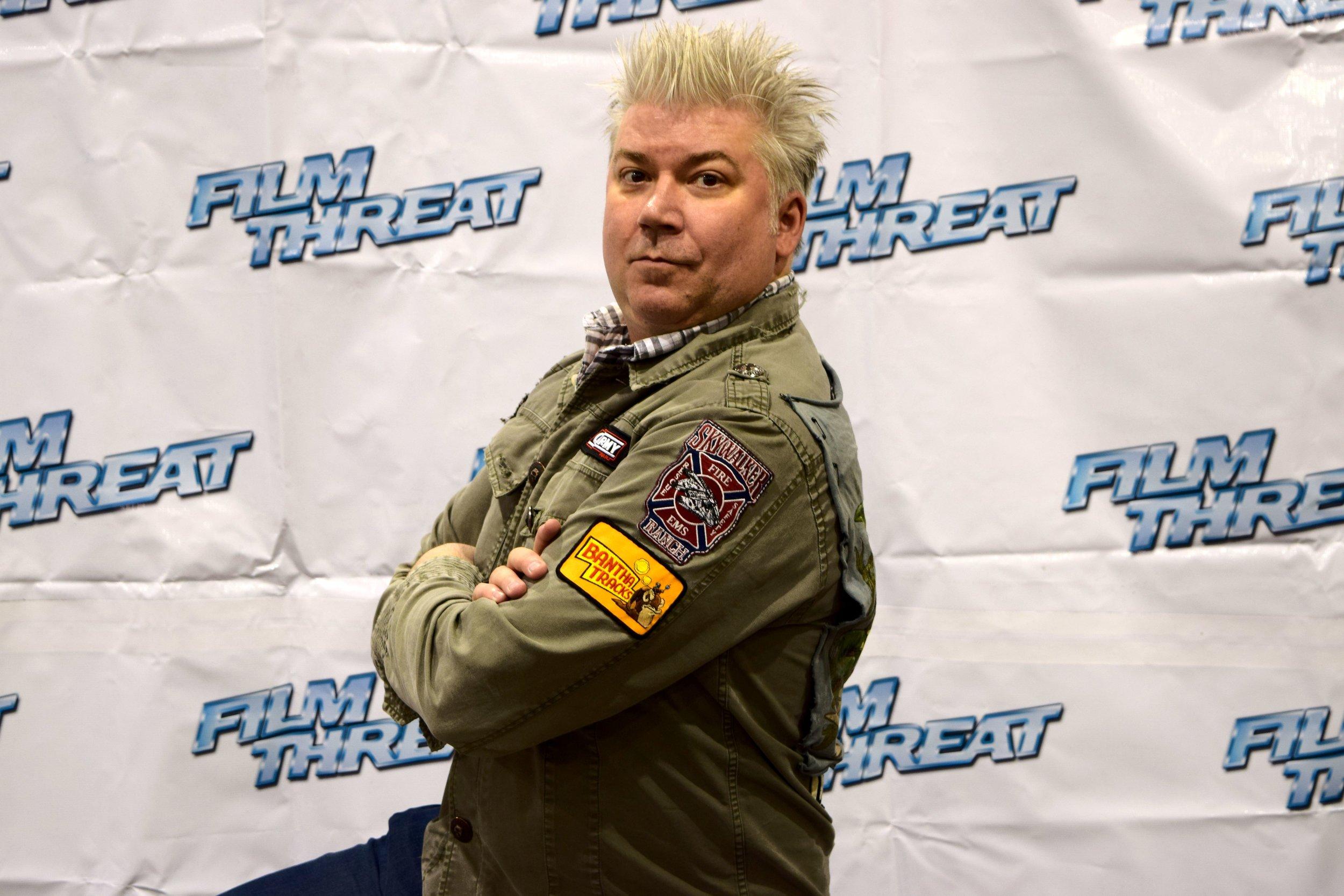 Chris Gore at Phoenix Comic Con 2017. (1)