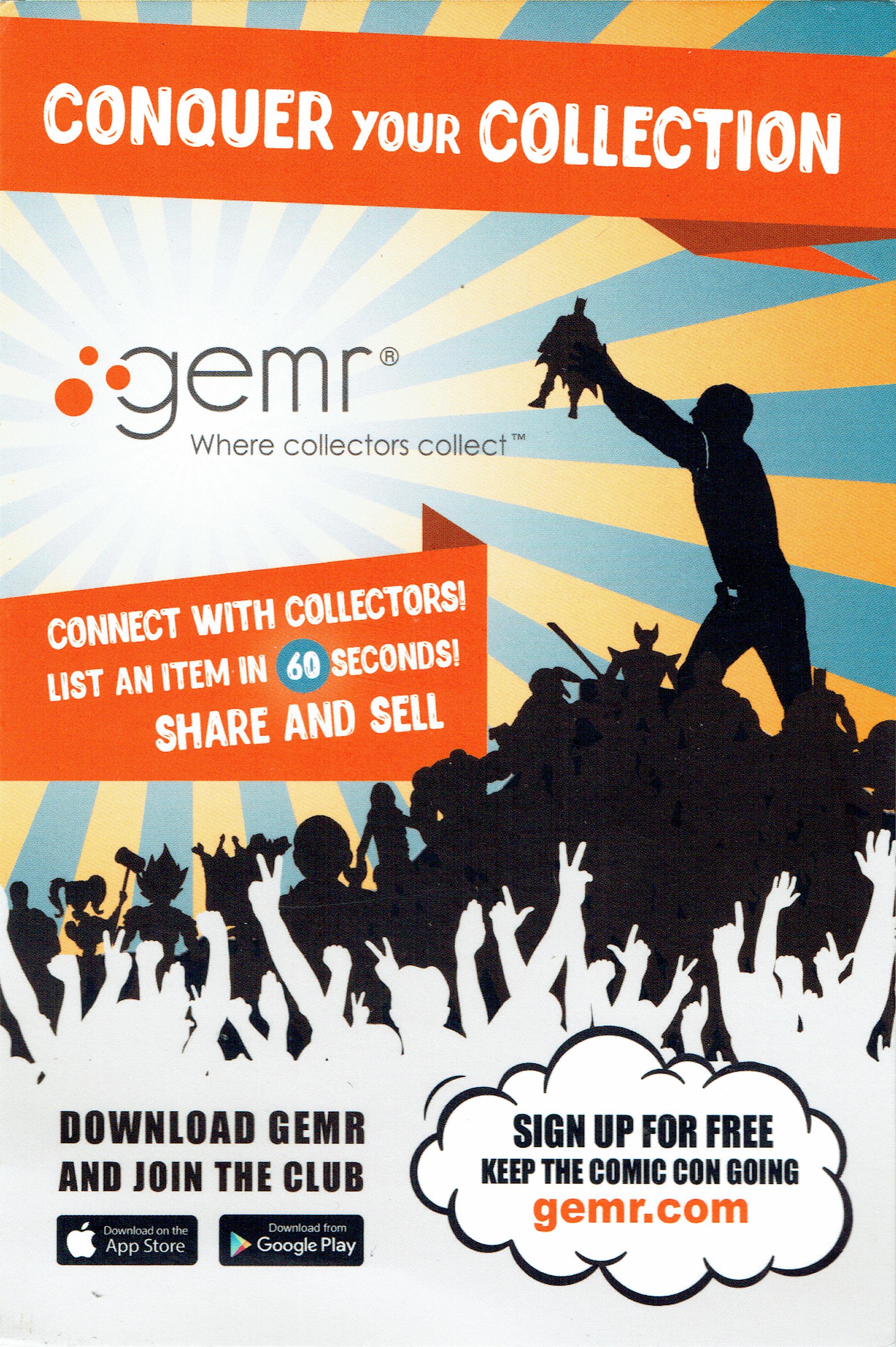 A gemr.com flyer (front).