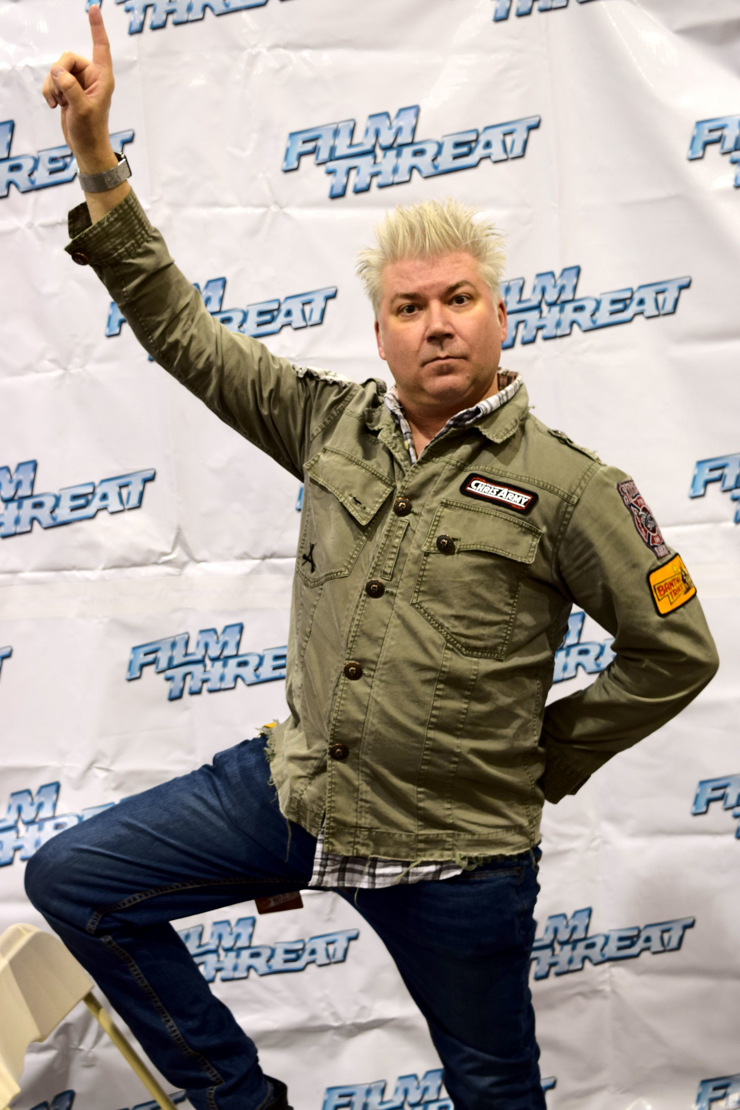 Chris Gore poses at Phoenix Comic Con 2017. (3)