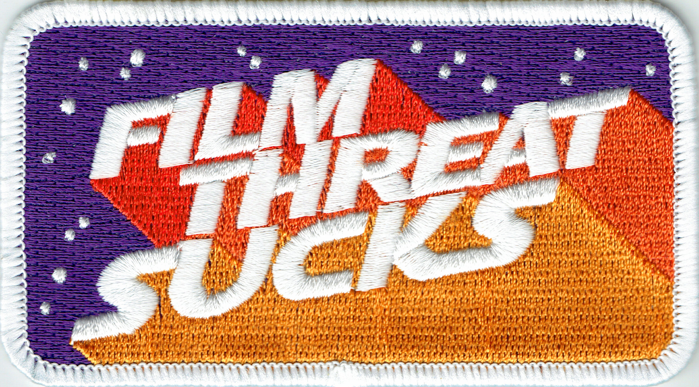 A Film Threat Sucks fabric patch.