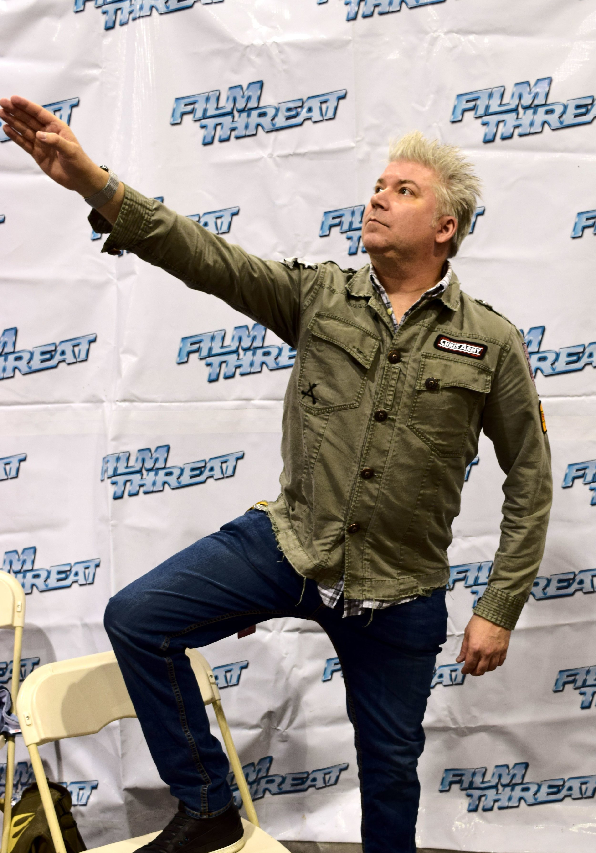 Chris Gore at Phoenix Comic Con 2017. (4)