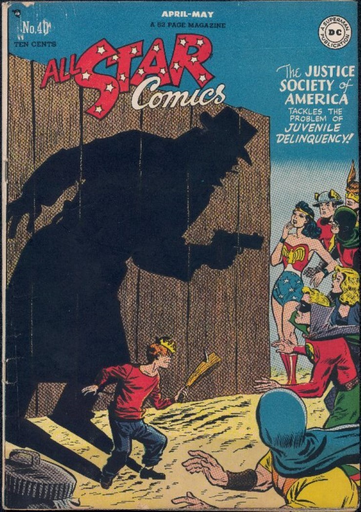 All-Star Comics #40. Pencils by Carmine Infantino.