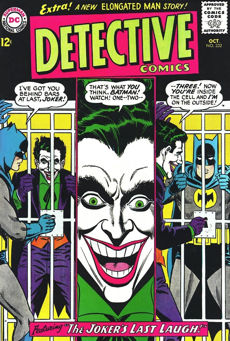 Detective Comics #332. Pencils by Carmine Infantino.