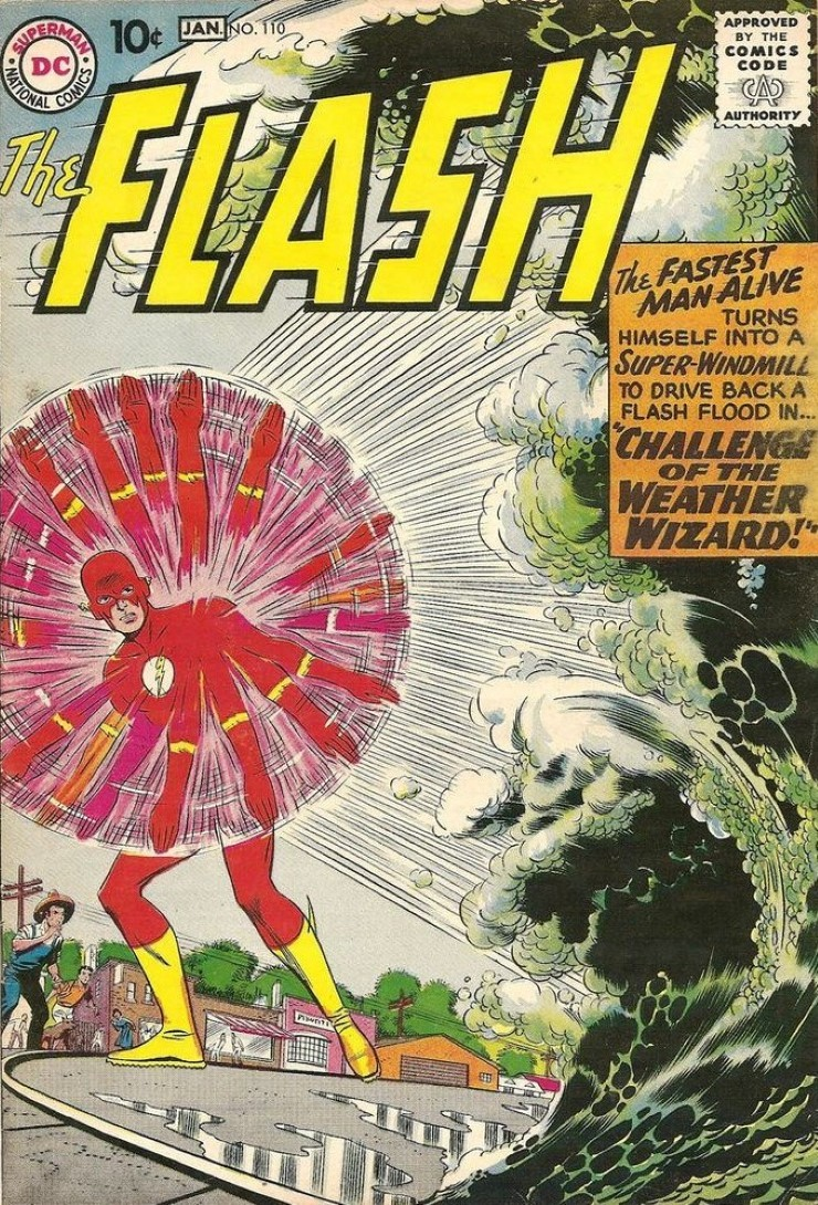 The Flash #110. Pencils by Carmine Infantino.