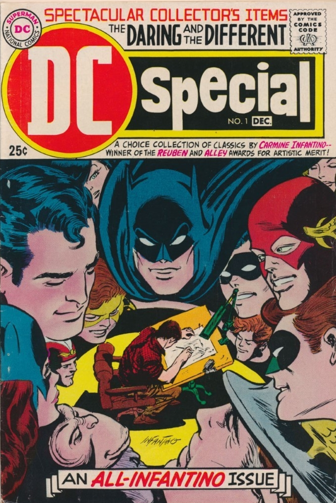 DC Special #1. Pencils by Carmine Infantino.