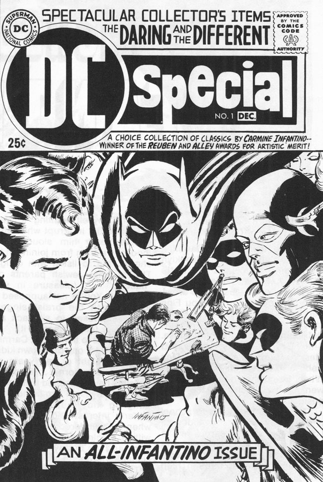 DC Special #1. Original pencils by Carmine Infantino.