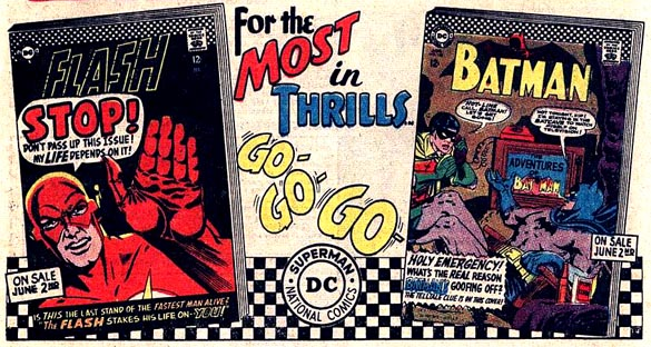 A DC ad featuring the Go-Go Checks.