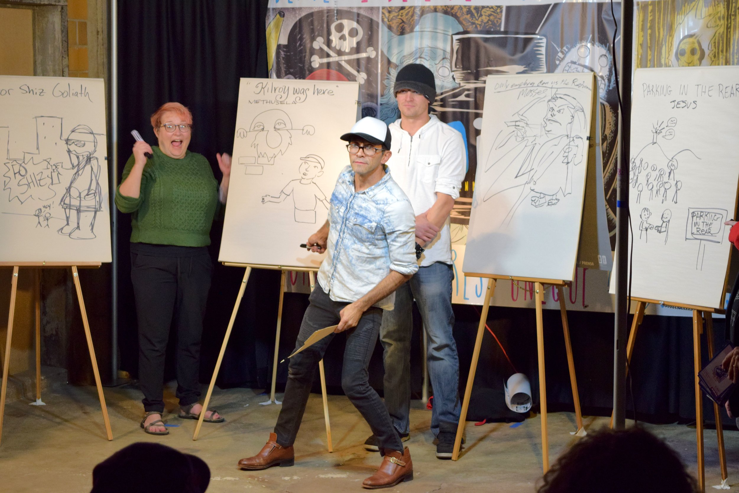 A Night At the DINK Colorado Showcase 2, TALA (Take Art Leave Art), and Draw-Off   Written by Neil Greenaway
