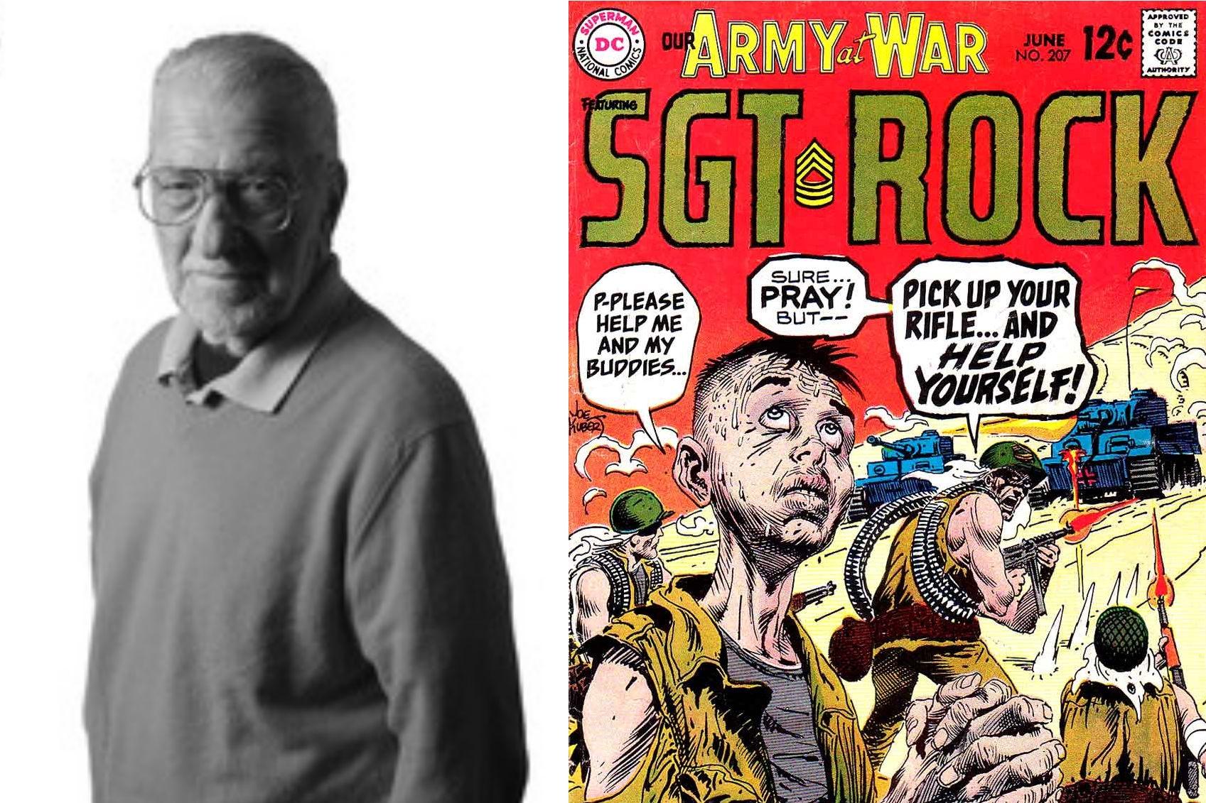 An Interview With Joe Kubert - A Masterful Hand in Comics   Written by Bryan Stroud
