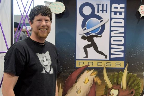 An Interview With Jesse Dubin of 8th Wonder Press (Denver Comic Con 2015)   Written by Neil Greenaway