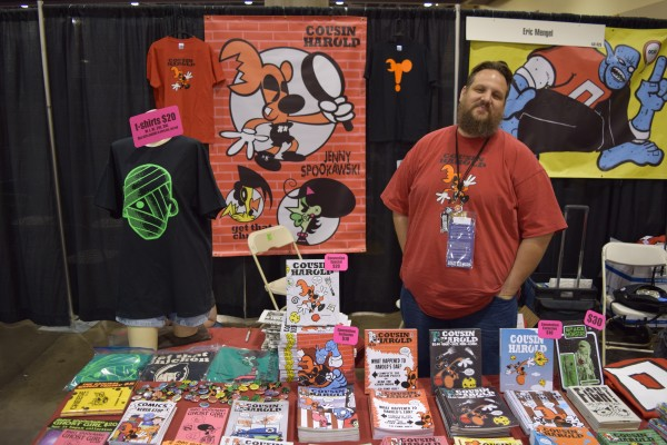 """An Interview With Denny """"Dennmann"""" Riccelli of Cousin Harold Comics (Phoenix Comic Con 2016)   Written by Neil Greenaway"""