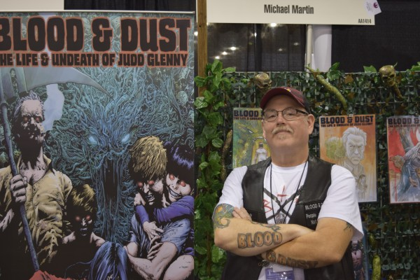 An Interview With Michael Martin of Nightshade Comics (Phoenix Comic Con 2016)   Written by Neil Greenaway