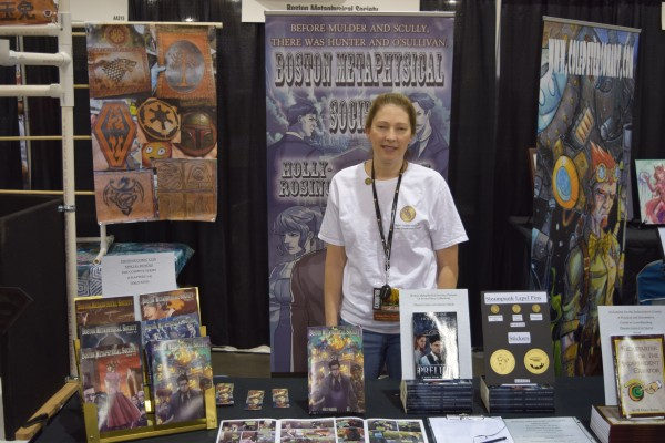 An Interview With Madeleine Holly-Rosing of The Boston Metaphysical Society (Phoenix Comic Con 2016)   Written by Neil Greenaway