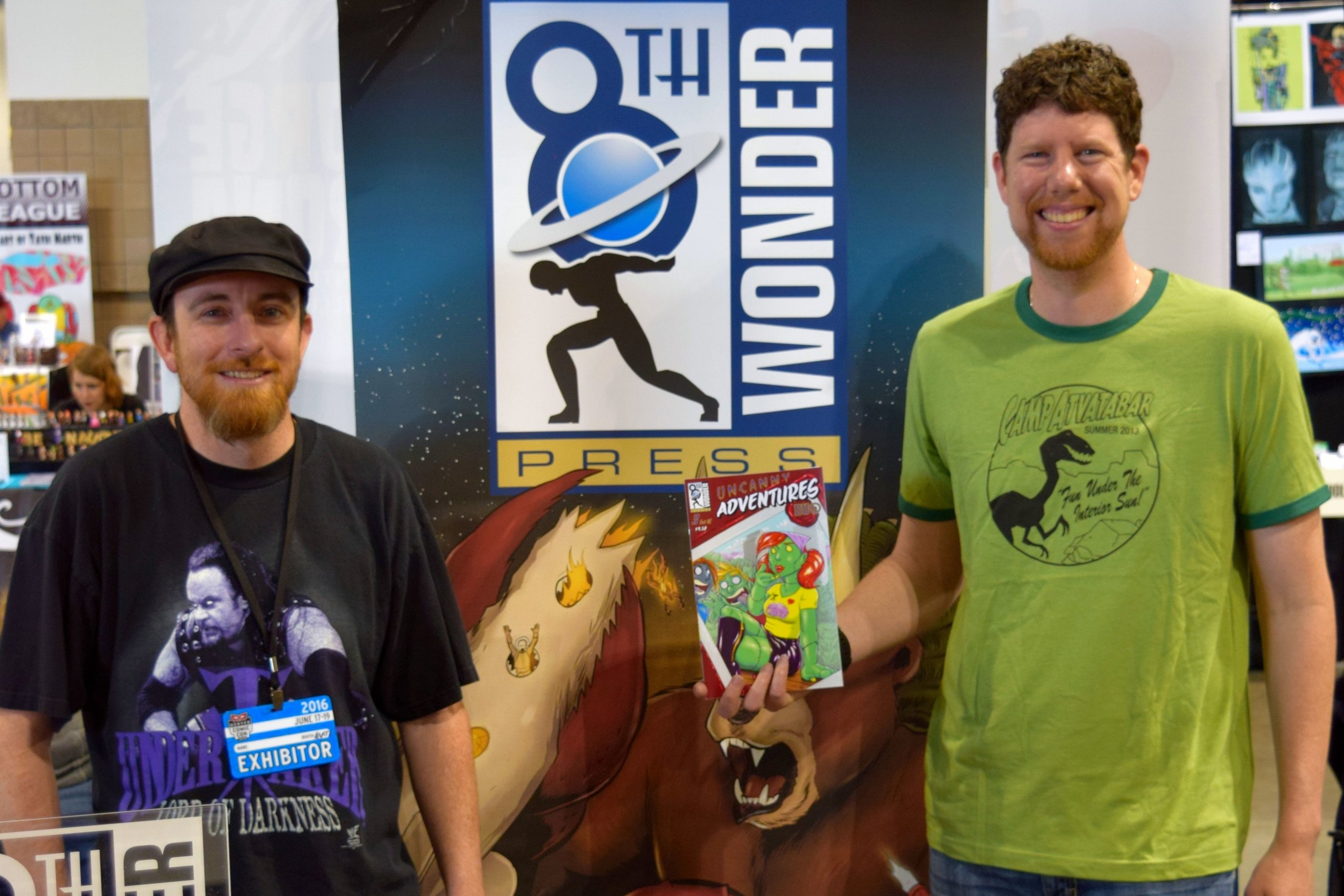 An Interview With Jesse Dubin, Mister V, & Dan Conner about Uncanny Adventures: Duo (Denver Comic Con 2016)   Written by Neil Greenaway