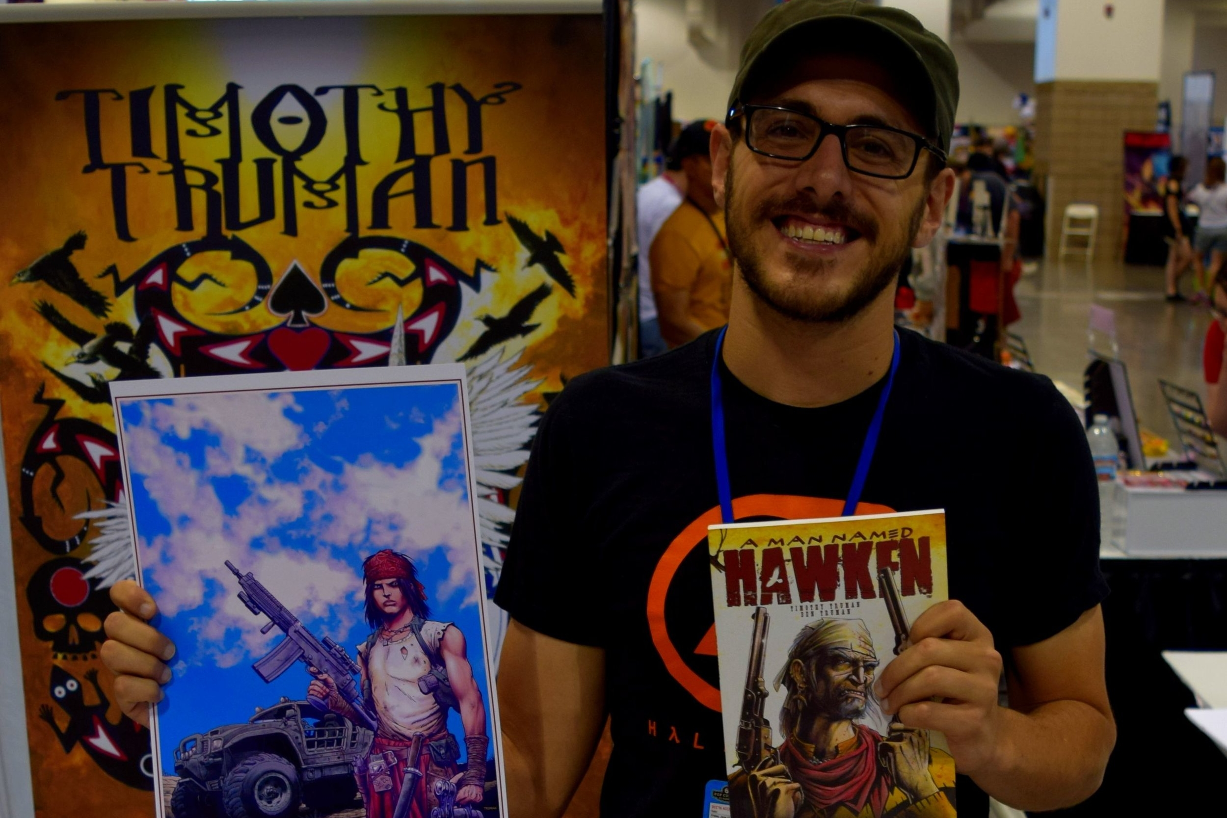 An Interview With Ben Truman of Black Mesa (Denver Comic Con 2016)   Written by Neil Greenaway
