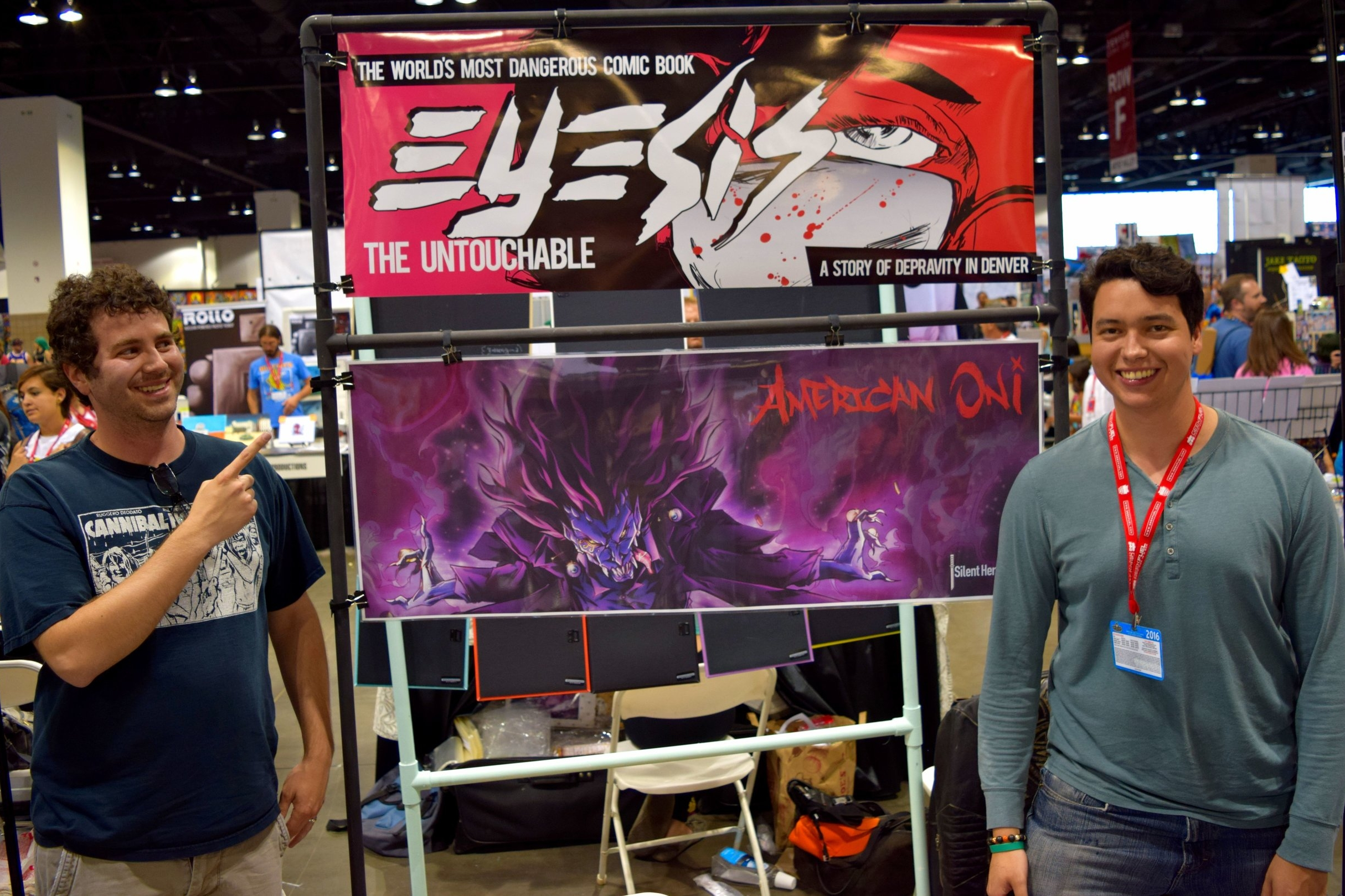 An Interview With David Espy & Alex Delia of Puncture Press (Denver Comic Con 2016)   Written by Neil Greenaway