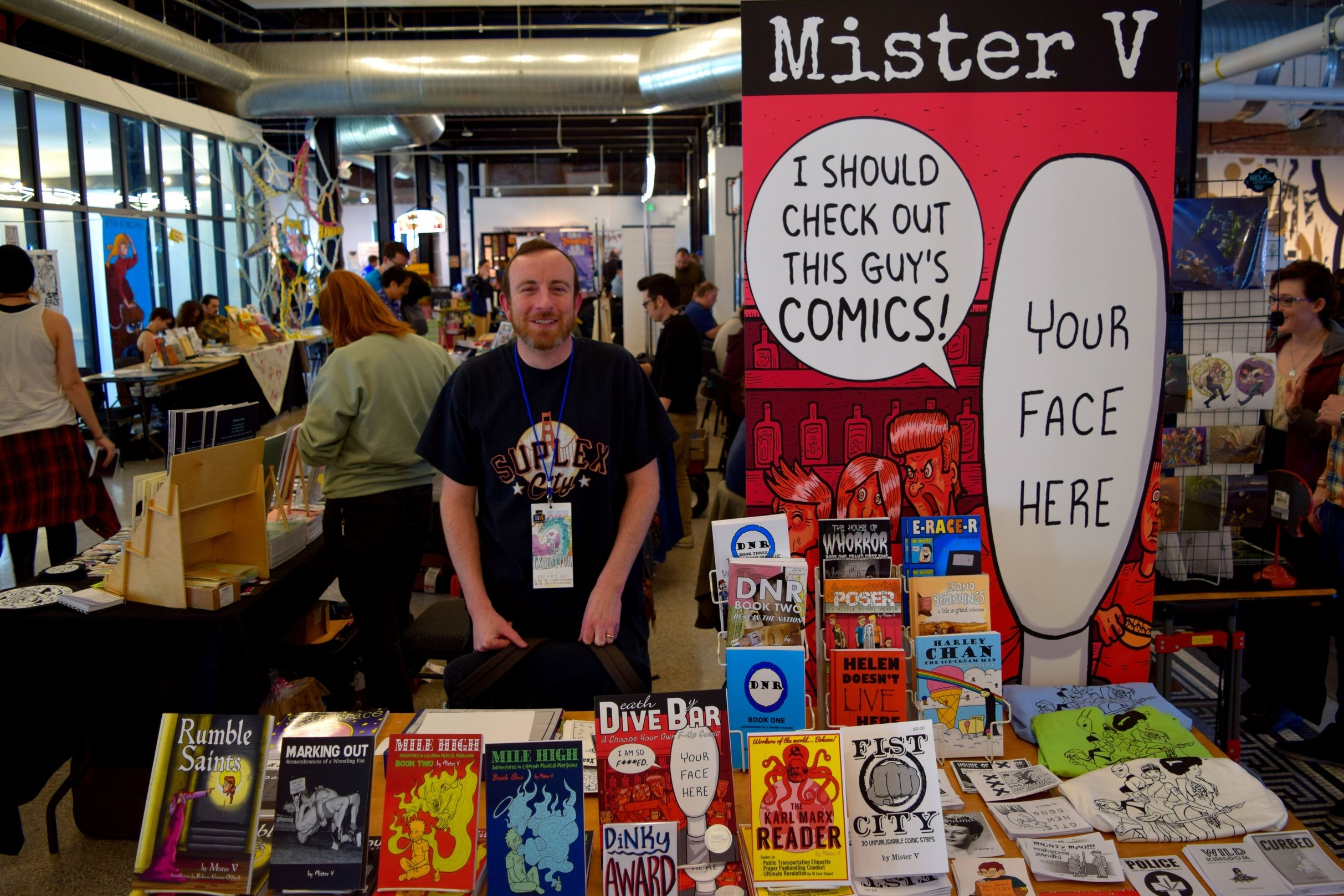 An Interview With Mister V of Death By Dive Bar (DINK 2017)   Written by Neil Greenaway