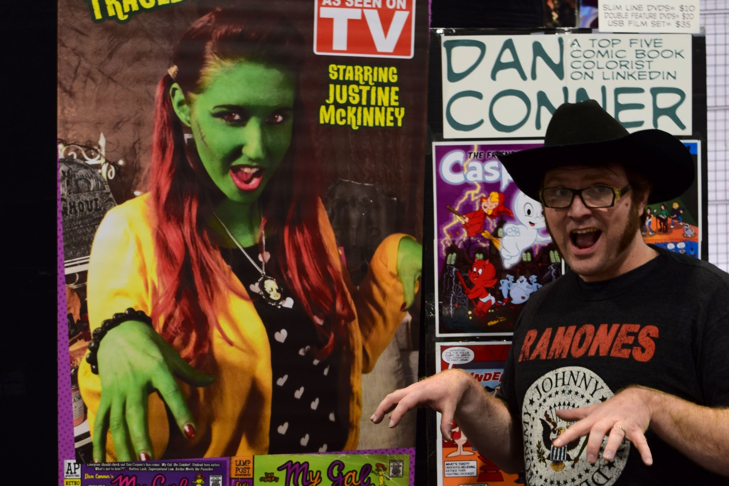 An Interview With Dan Conner of Crazy Good Comics (Denver Comic Con 2017)   Written by Neil Greenaway