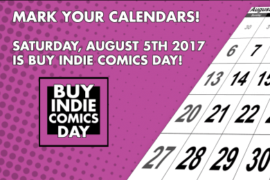 An Interview With Phil Buck of Buy Indie Comics Day (BICD 2017)   Written by Neil Greenaway