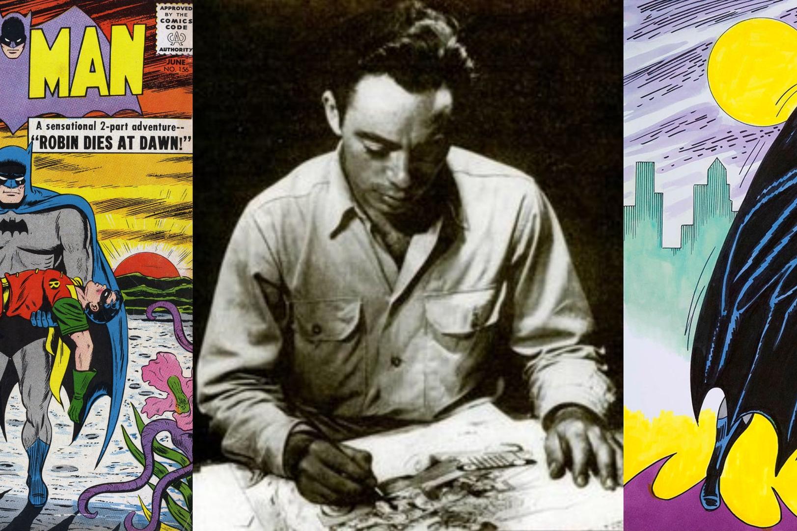 An Interview With Sheldon Moldoff - The Prolific Penciller Behind Early Batman   Written by Bryan Stroud