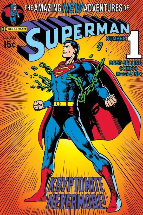 Superman (1939) #233. Cover by Neal Adams.