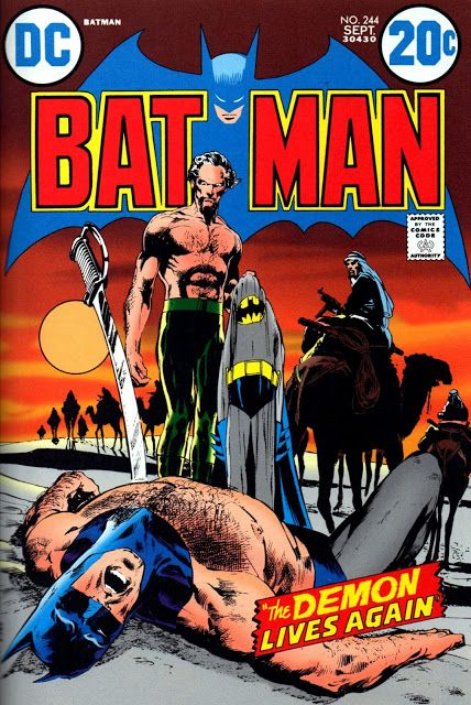 Batman (1940) #244. Cover by Neal Adams.