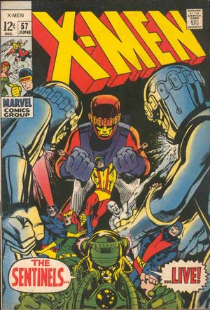 X-Men (1963) #56. Cover by Neal Adams.