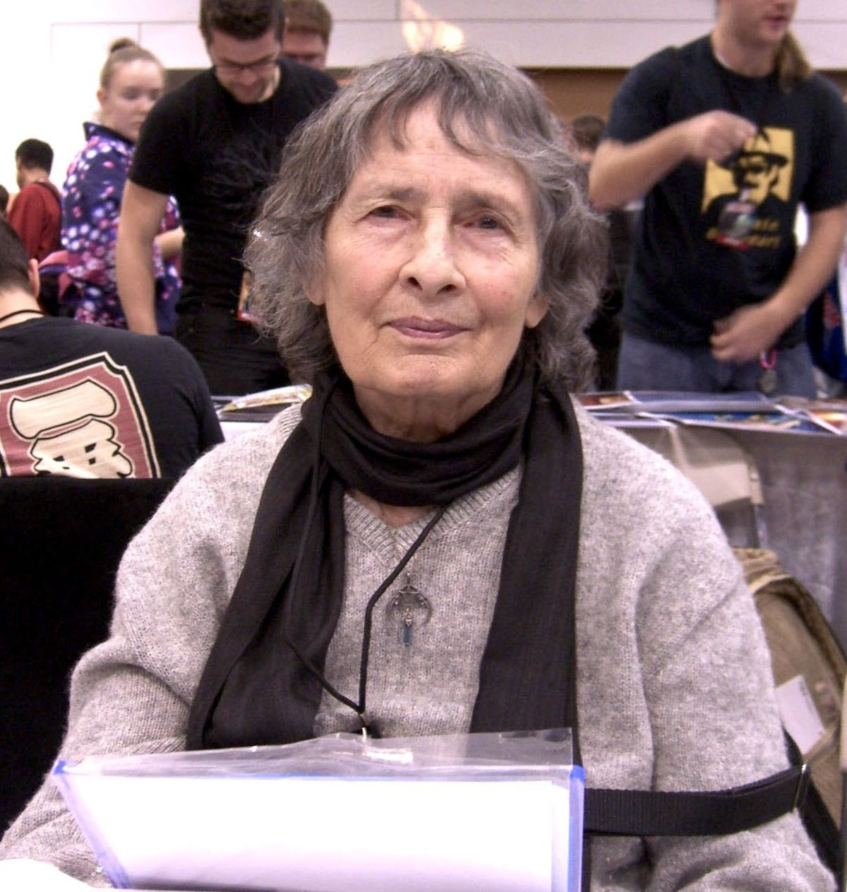 Ramona Fradon at NYCC 2010.