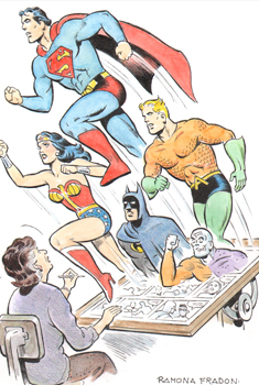 Ramona and the Super Friends - by Ramona Fradon.