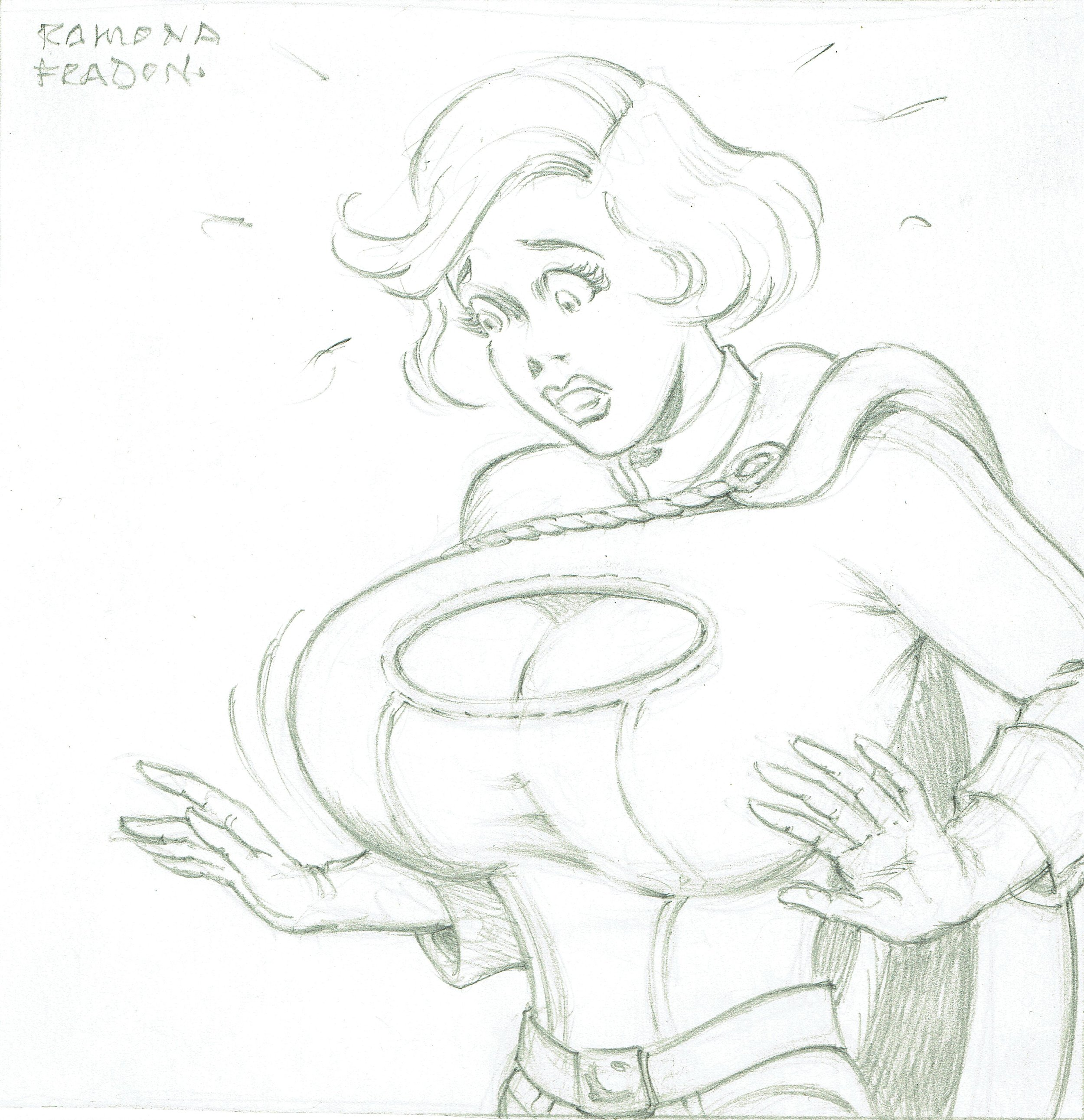 Power Girl by Ramona Fradon.