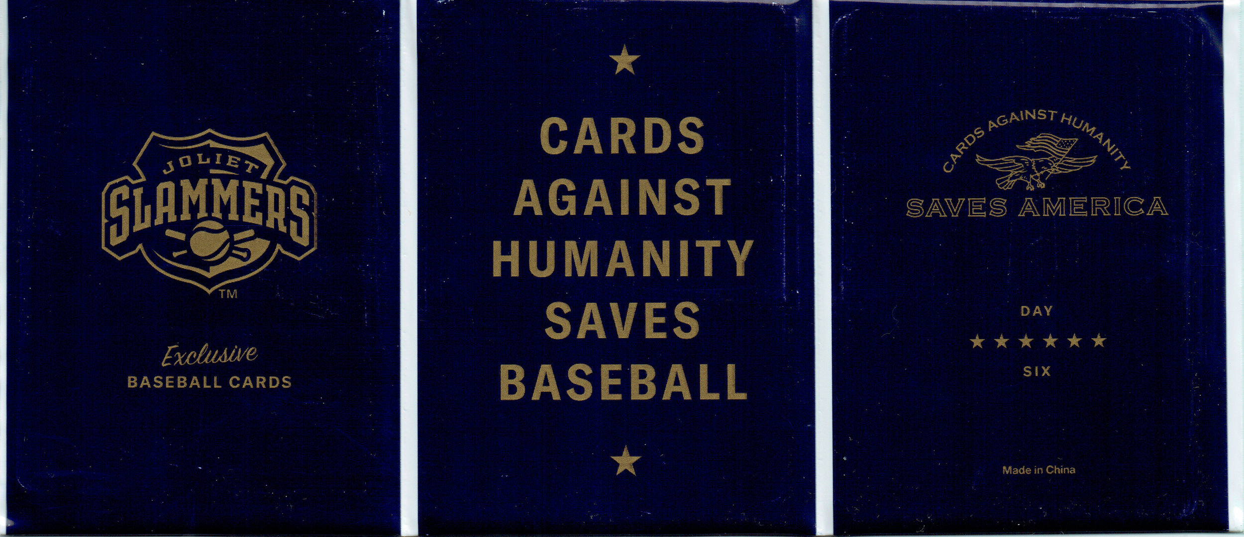 Cards Against Humanity Saves Baseball card pack
