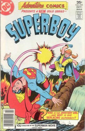 Adventure Comics #453, written by Bob Rozakis.