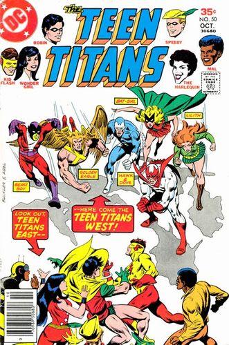 Teen Titans #50, written by Bob Rozakis.