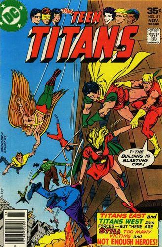 Teen Titans #51, written by Bob Rozakis.