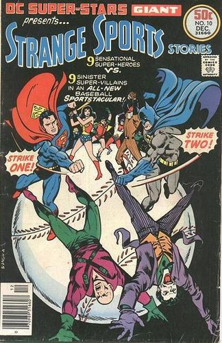 DC Super-Stars #10, written by Bob Rozakis.