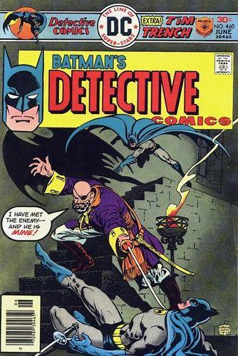 Detective Comics #460, written by Bob Rozakis.